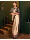 A smooth pick evergreen saree