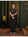 Ooze princess like vibes in this particularly structured prepared to-wear saree, 76816477